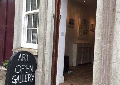 Photo of entrance to Pauline Walsh Art Gallery