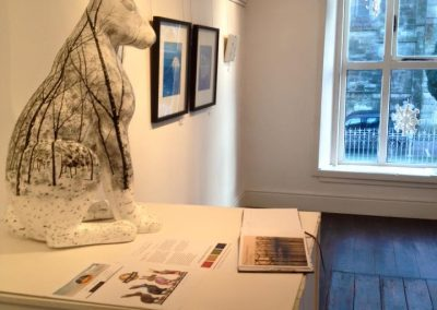 Inside photo of Pauline Walsh Exhibition
