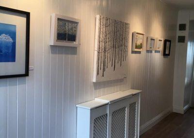 Inside photo of Pauline Walsh Art Gallery